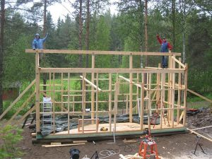 Remontti- ja korjauspalvelut Pohjois-Savossa - hevostallin rakentaminen, FinMacGyver Oy